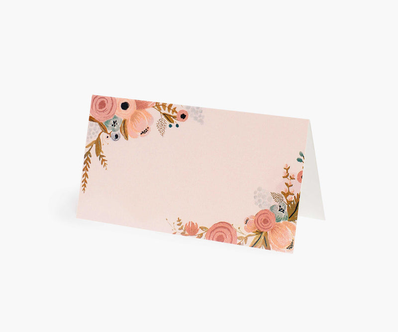 Rifle Paper Co Pack of 8 Simone Place Cards