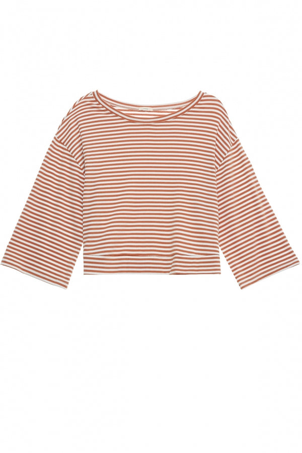 Eberjey Quicy Icon Top Pecan/White