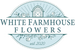 White Farmhouse Flowers