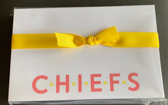 Chiefs Notepad