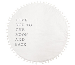 Love You to the Moon and Back Play Mat