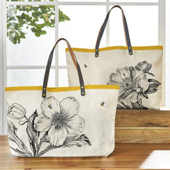 Honey Bee Tote Bag/2 Designs
