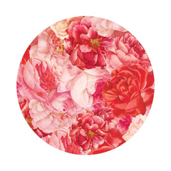 Rose Pattern Charger Plate