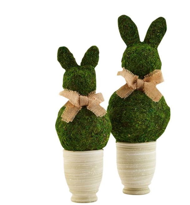 Bunny Topiaries
