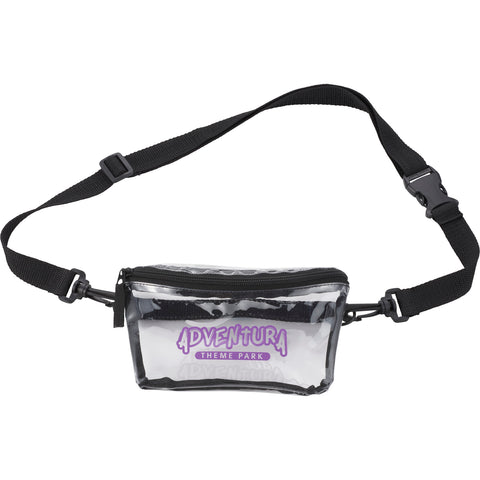 Clear Tinted Convertible Waist Pack 1026-11