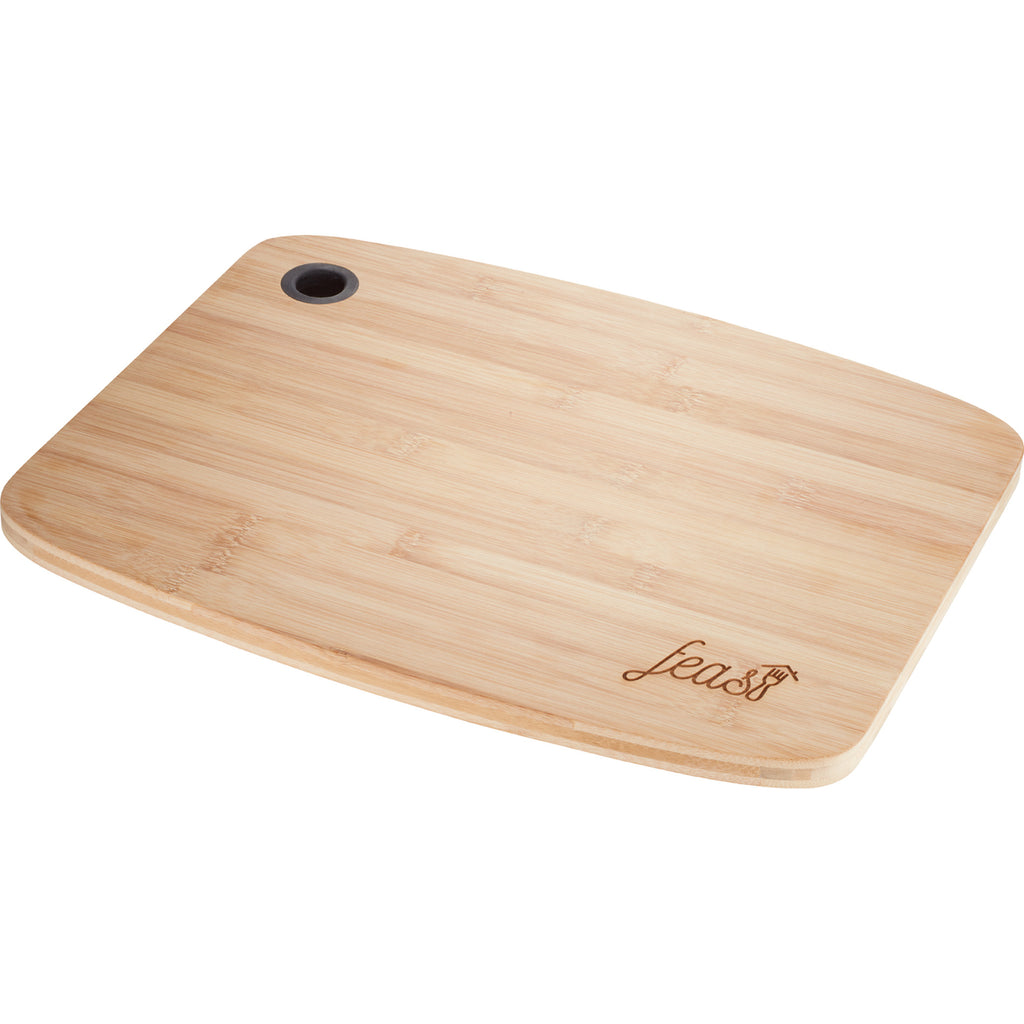 Large Bamboo Cutting Board With Silicone Grip 1031-62