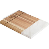 Marble And Acacia Wood Cheese Cutting Board 1031-63