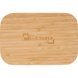 Bamboo Fiber Lunch Box With Cutting Board Lid 1033-93