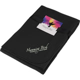 Cozy Fleece Blanket With Full Color Card And Band 1081-17