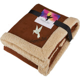 Appalachian Sherpa Blanket With Full Color Card 1081-19