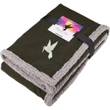Field & Co. Oversized Wool Sherpa Blanket W/Card 1081-27