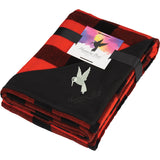 Buffalo Plaid Ultra Plush Throw W/Full Color Card 1081-28