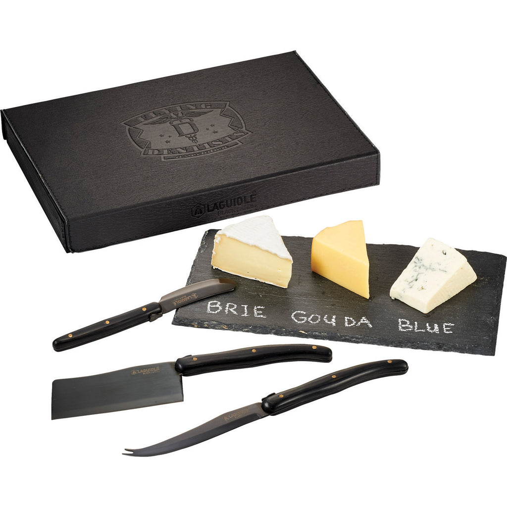 Laguiole Black Cheese & Serving Set 1250-39