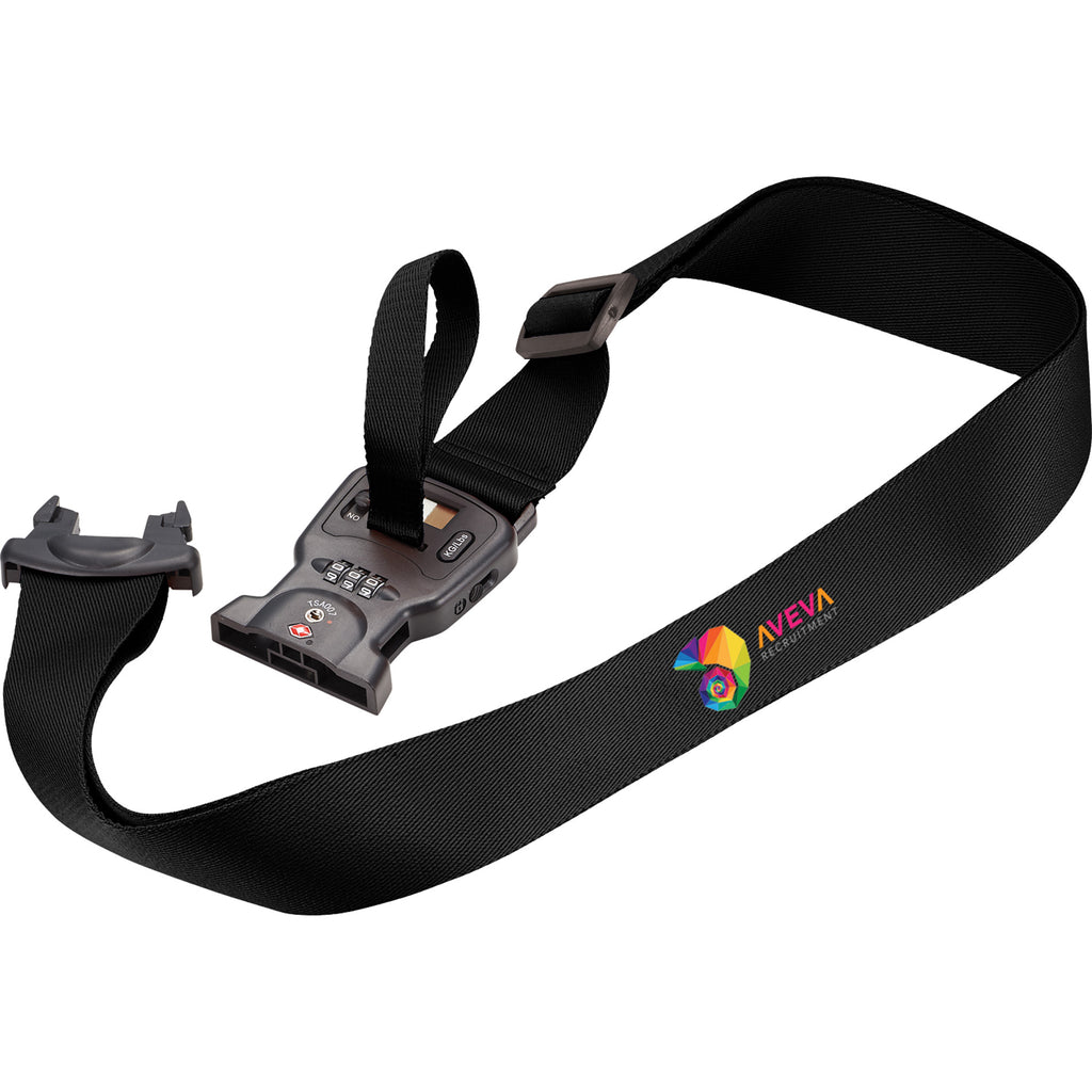 3-In-1 Luggage Strap (With Scale + Tsa Lock) 1492-05