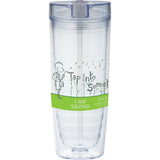 Hot & Cold Flip N Sip Vortex Tumbler 20Oz 1623-57