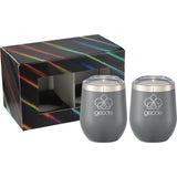Corzo Cup 12Oz 2 In 1 Gift Set 1626-97