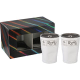 Glacier Tumbler 12Oz 2 In 1 Gift Set 1626-98