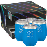 Corzo Cup 12Oz 4 In 1 Gift Set 1626-99