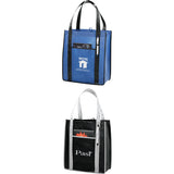 Contrast Non-Woven Carry-All Tote 2150-44