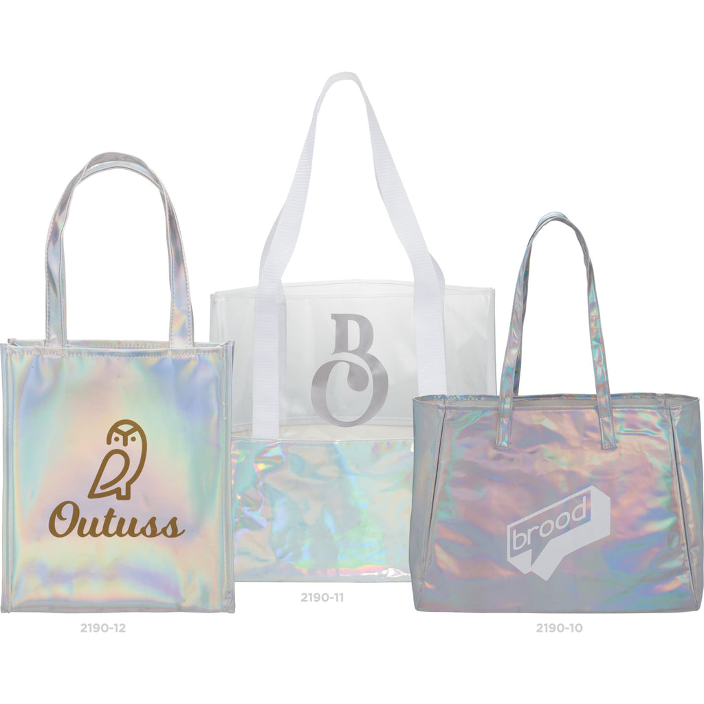 Holographic Shopper Tote 2190-10