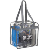 Game Day Clear Zippered Safety Tote 2301-42
