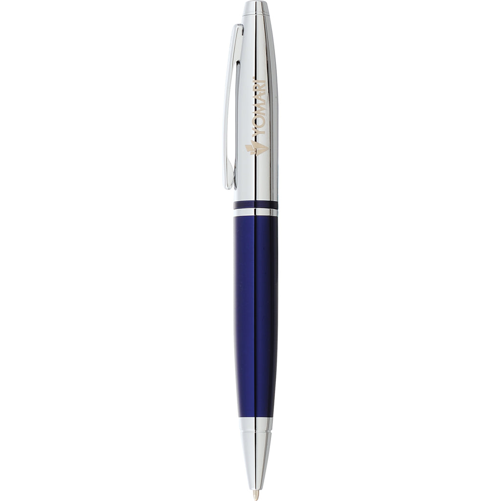 Cross Calais Chrome Blue Ballpoint 2767-88
