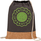 Cotton And Cork Drawstring Bag 3005-19