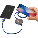 Gamma Wireless Charging Pad With 3-In-1 Cable 7141-78