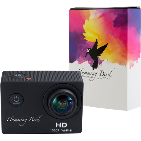 Hd Action Camera With Full Color Wrap 7141-92