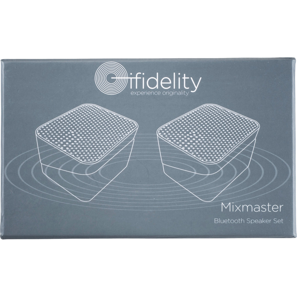 Ifidelity Mixmaster Bluetooth Pairing Speakers 7199-50