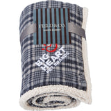 Field & Co. Plaid Sherpa Blanket 7950-60