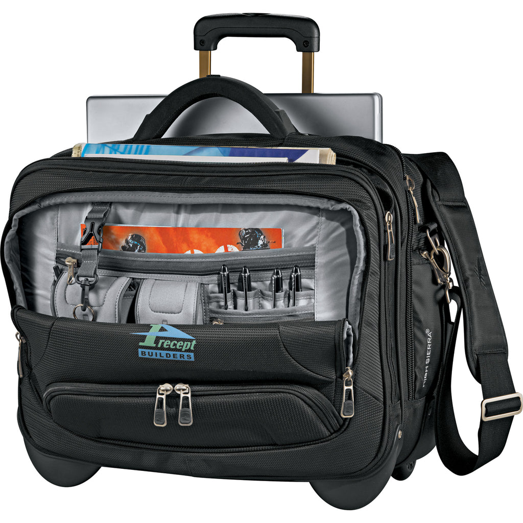 High Sierra Integral Wheeled Computer Briefcase 8050-92