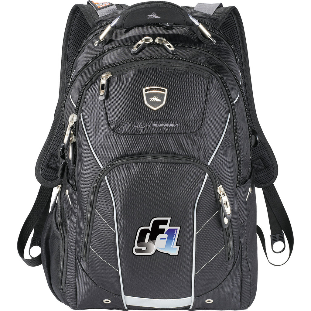 "High Sierra Elite Fly-By 17"" Computer Backpack 8051-33"