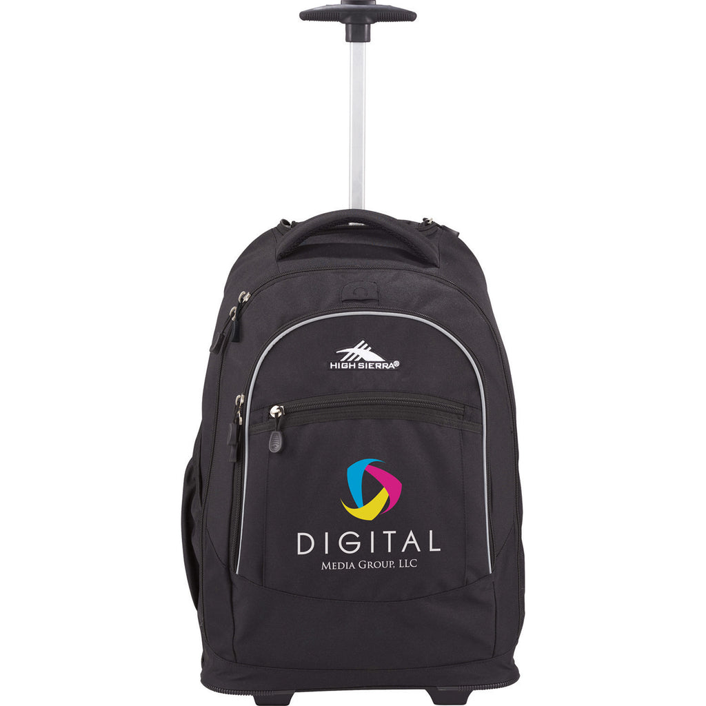 "High Sierra Chaser Wheeled 17"" Computer Backpack 8051-37"