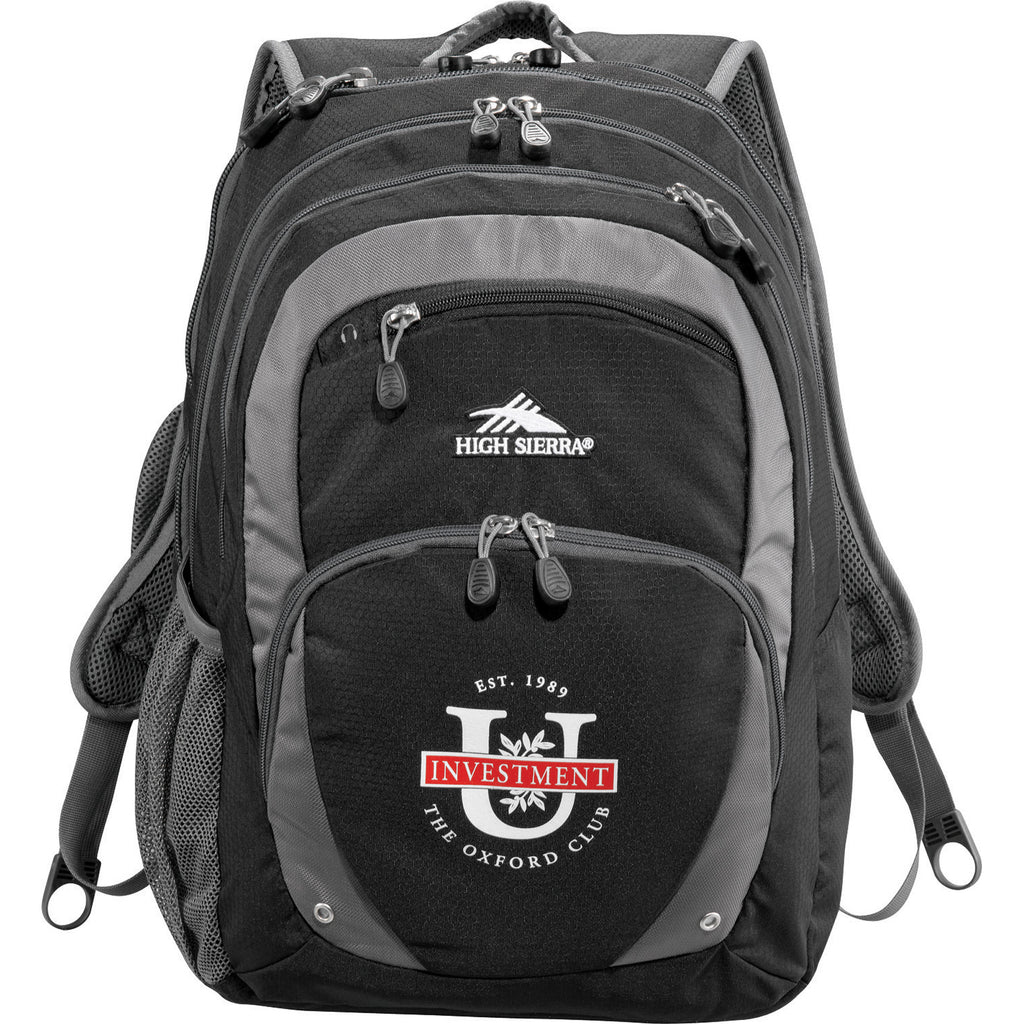 "High Sierra Overtime Fly-By 17"" Computer Backpack 8051-87"