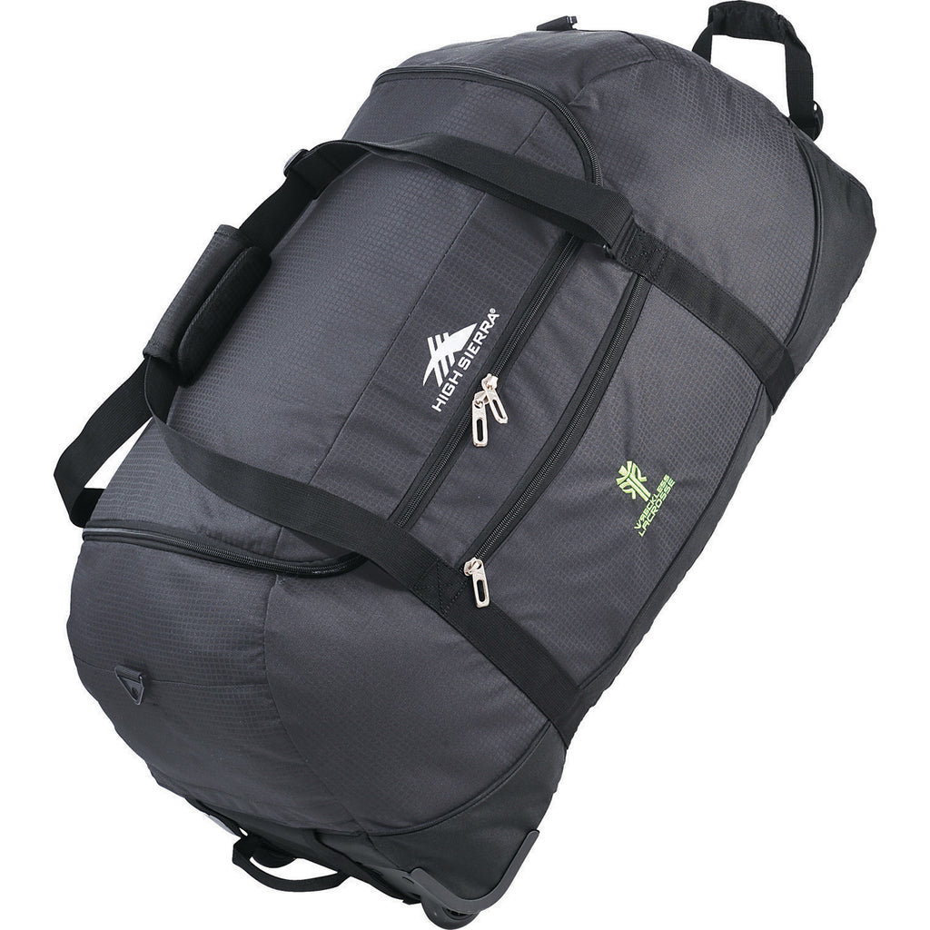 "High Sierra Packable 30"" Wheel-N-Go Duffel Bag 8052-27"