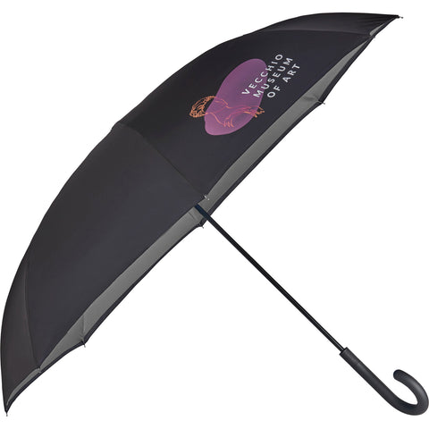 "47""  Totes Auto Close Inbrella Inversion Umbrella 8850-18"