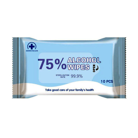 Alcohol Wipes, 10's AP-AW101