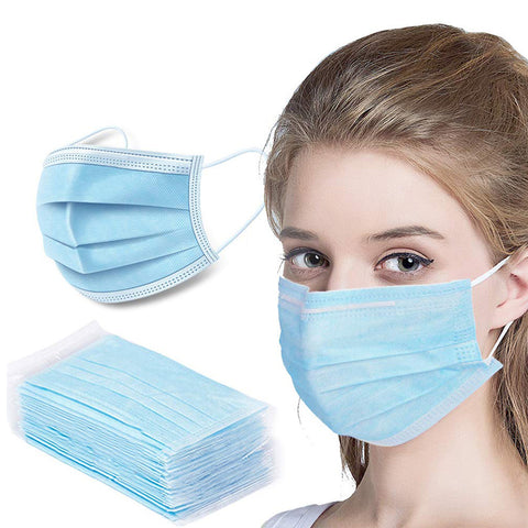 3-Ply Disposable Face Masks-FDA & E Certified AP-FM101