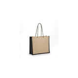 Jute - All Natural Burlap Fashion Tote JB119