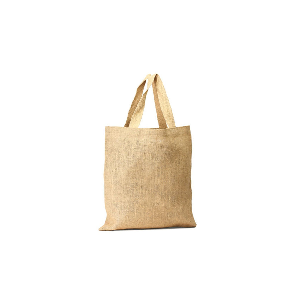 Jute - Unlaminated Burlap Economical Shopping Bag JC0096