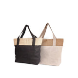 Jute - Large Burlap Shopping Bag JC0162