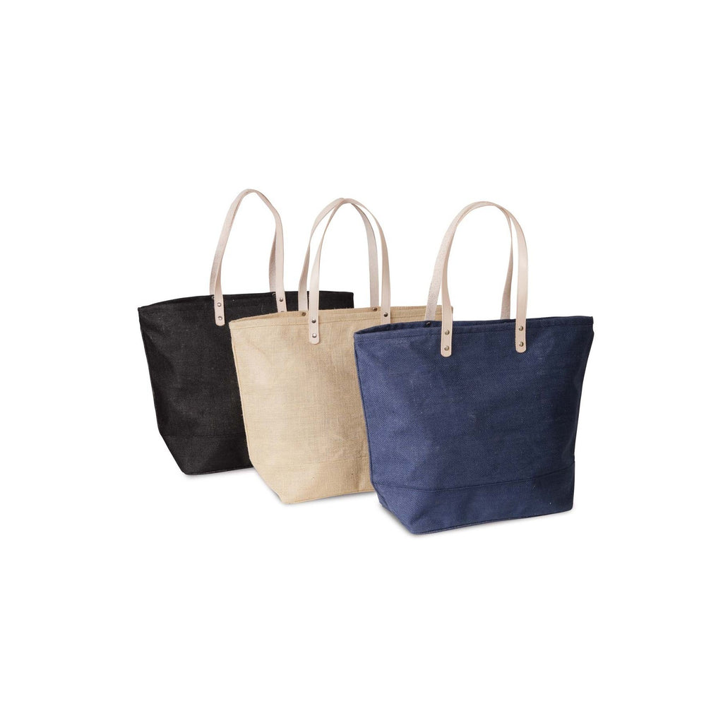 Jute - Large Burlap Tote Bag - Natural JC0208L-N