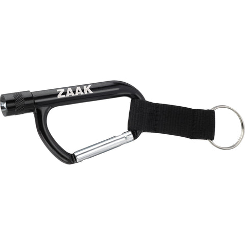 Flashlight Carabiner With Strap SM-2341