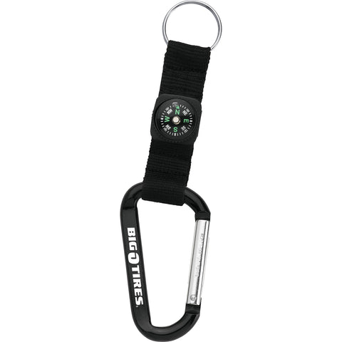 Carabiner With Compass SM-2374