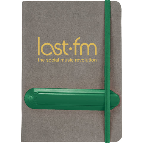 "5"" X 7"" Slider Notebook With Pen SM-3580"