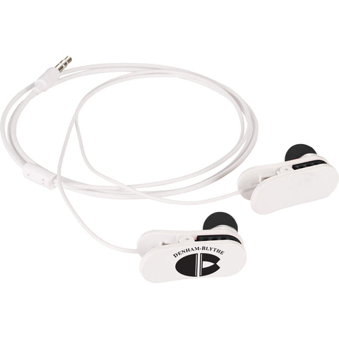 Clip On Wired Earbuds SM-3764