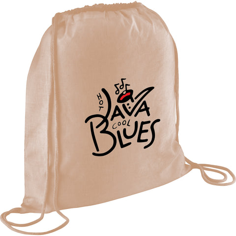 4Oz Cotton Drawstring Bag SM-7459
