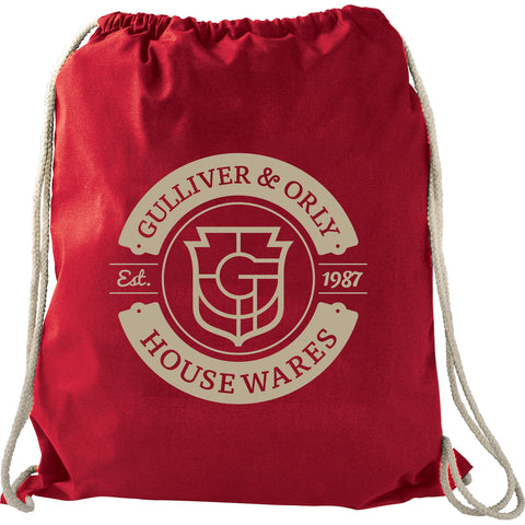 Large Cotton Drawstring Bag SM-7737