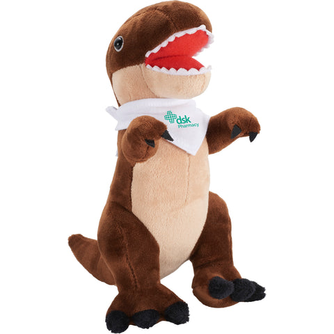 "7.5"" Plush T-Rex With Bandana SM-8530"